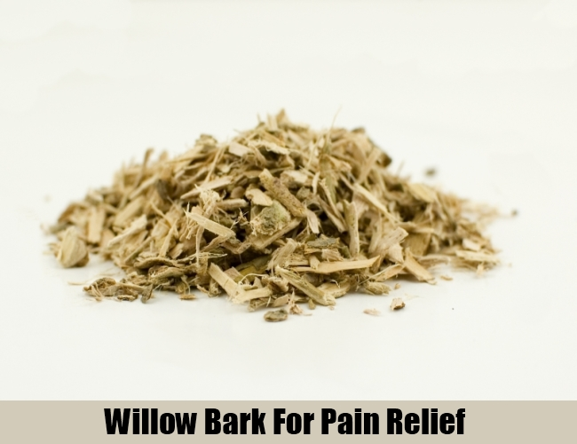 Willow Bark For Pain Relief