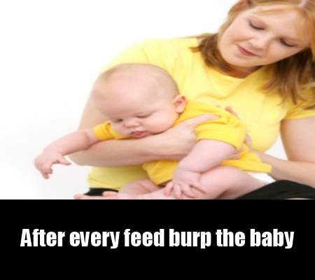 Burp After Feed