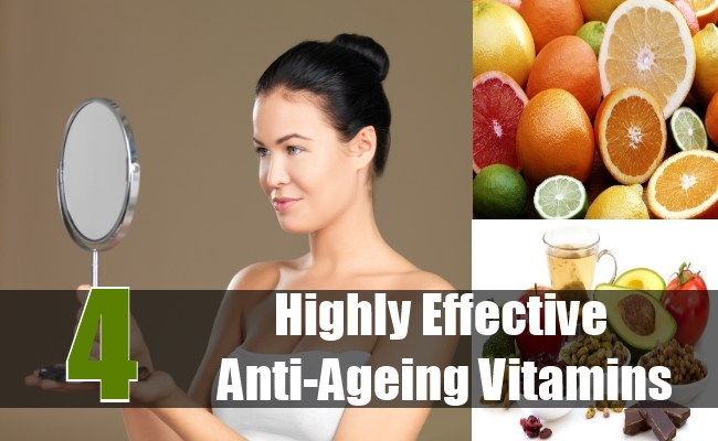 Highly Effective Anti-Ageing Vitamins