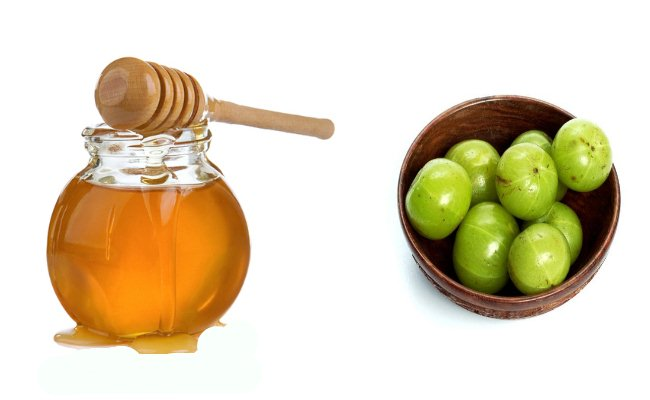 Honey And Indian Gooseberries
