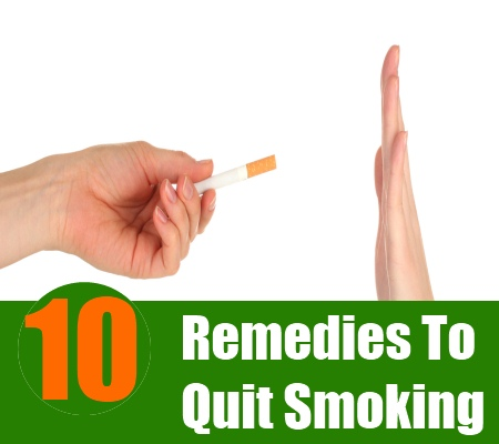 Smoking remedies