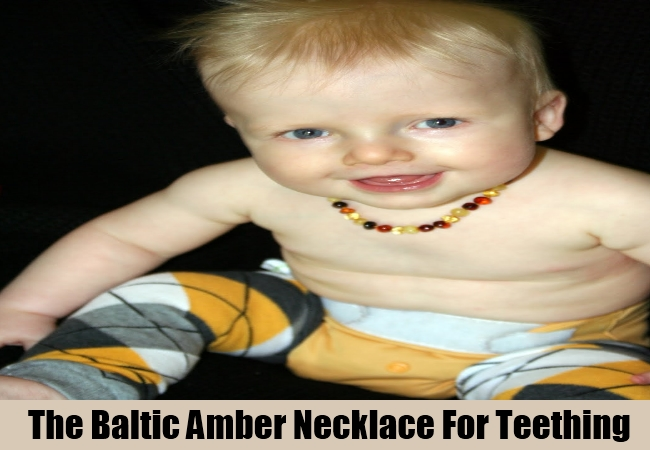The Baltic Amber Necklace For Teething