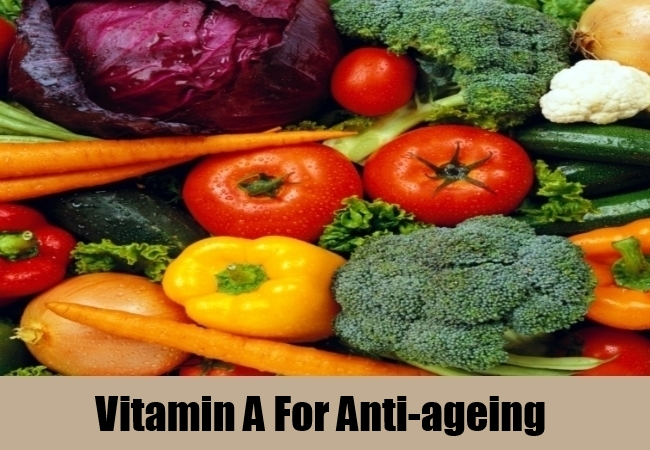 Vitamin A For Anti-ageing