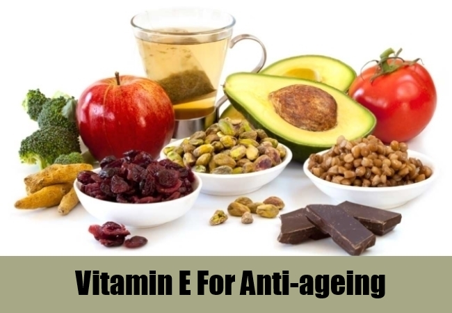 Vitamin E For Anti-ageing