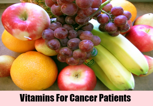 Vitamin For Cancer Patients