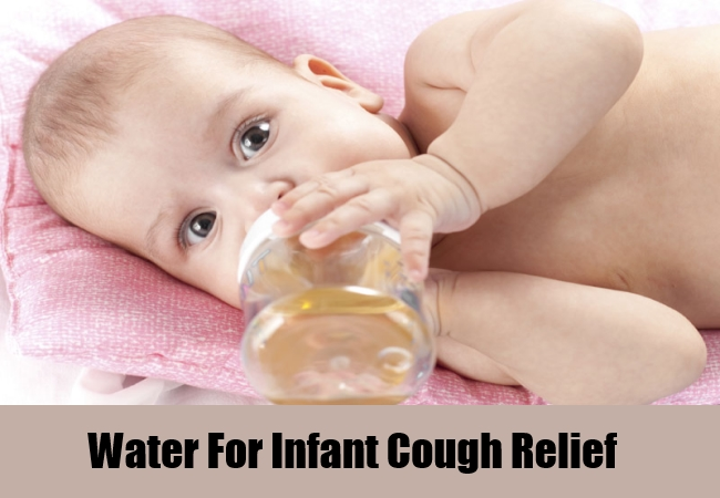 Water For Infant Cough Relief