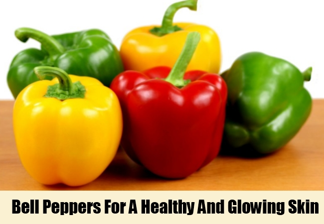 Bell Peppers For A Healthy And Glowing Skin