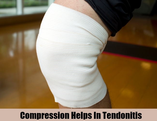 Compression Helps In Tendonitis