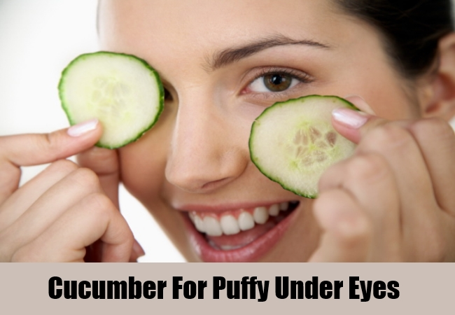 Cucumber For Puffy Under Eyes