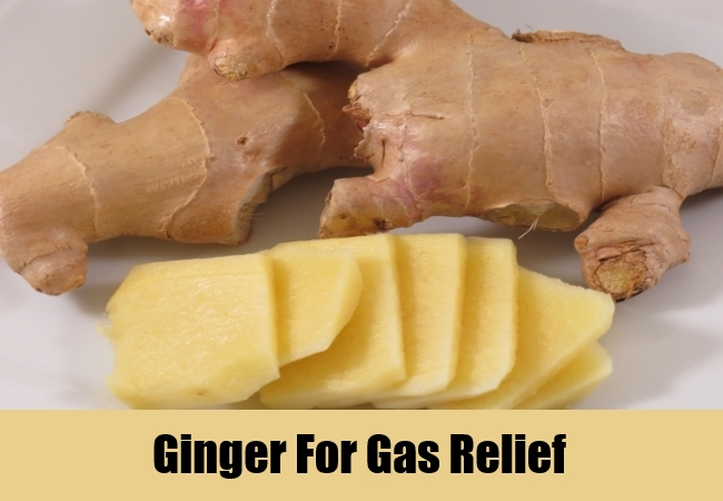 Ginger For Gas Relief