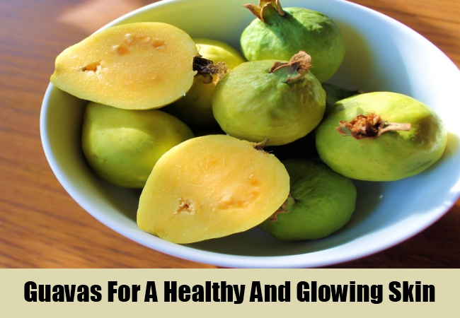 Guavas For A Healthy And Glowing Skin