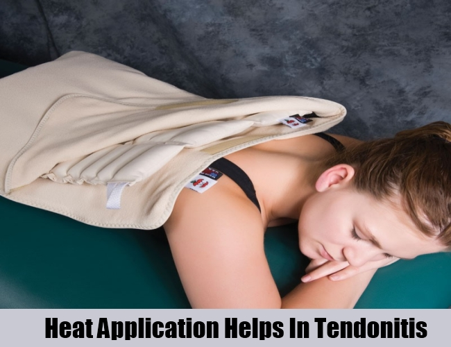 Heat Application Helps In Tendonitis