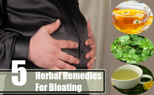 Herbal Remedies For Bloating