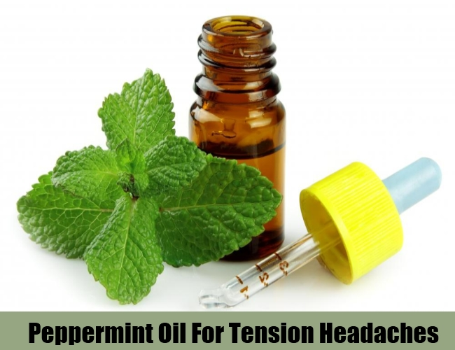 Peppermint Oil For Tension Headaches