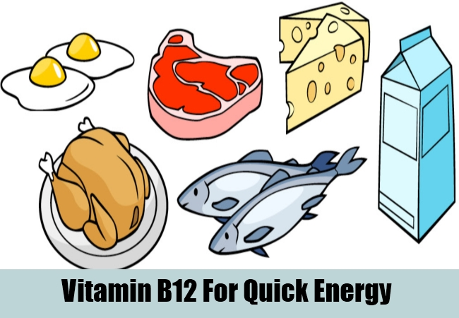 Vitamin B12 For Quick Energy