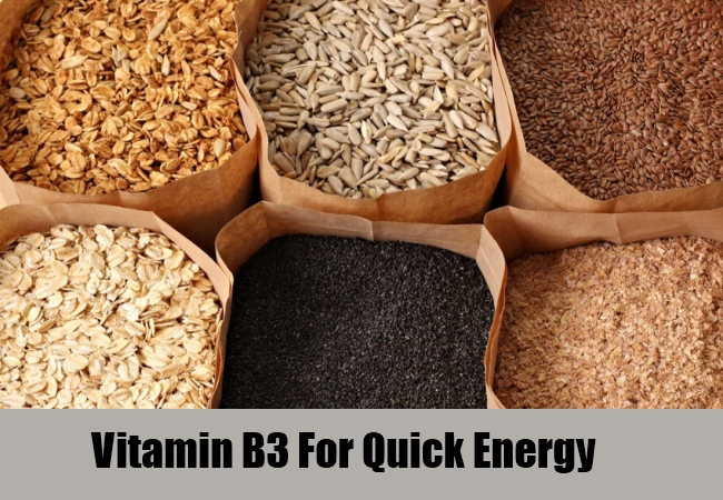 Vitamin B3 For Quick Energy