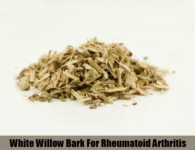 White Willow Bark For Rheumatoid Arthritis