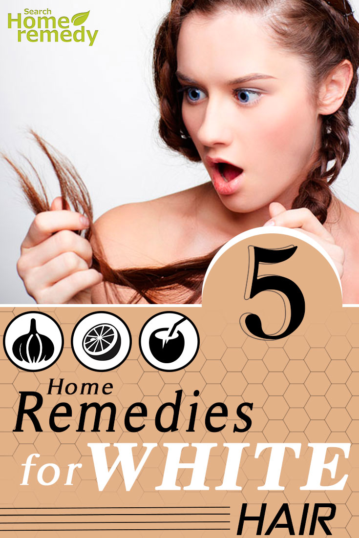 Best Home Remedies For White Hair