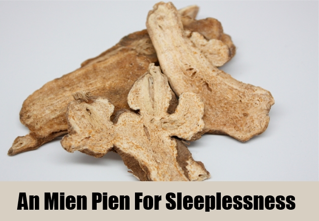An Mien Pien For Sleeplessness