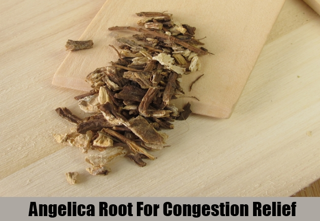 Angelica Root For Congestion Relief