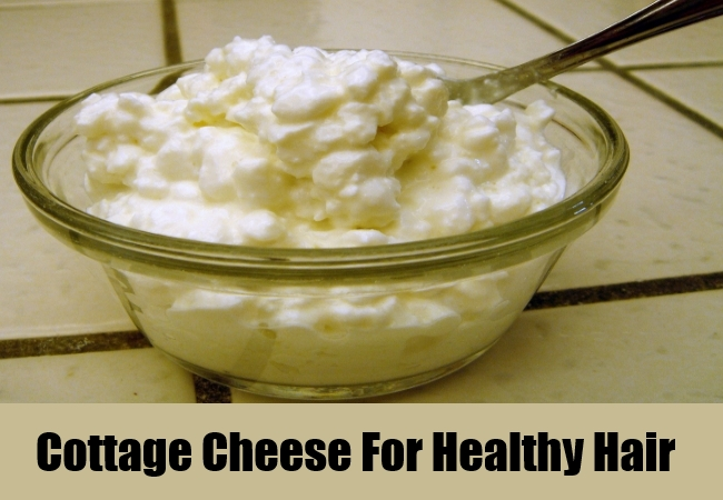 Cottage Cheese For Healthy Hair