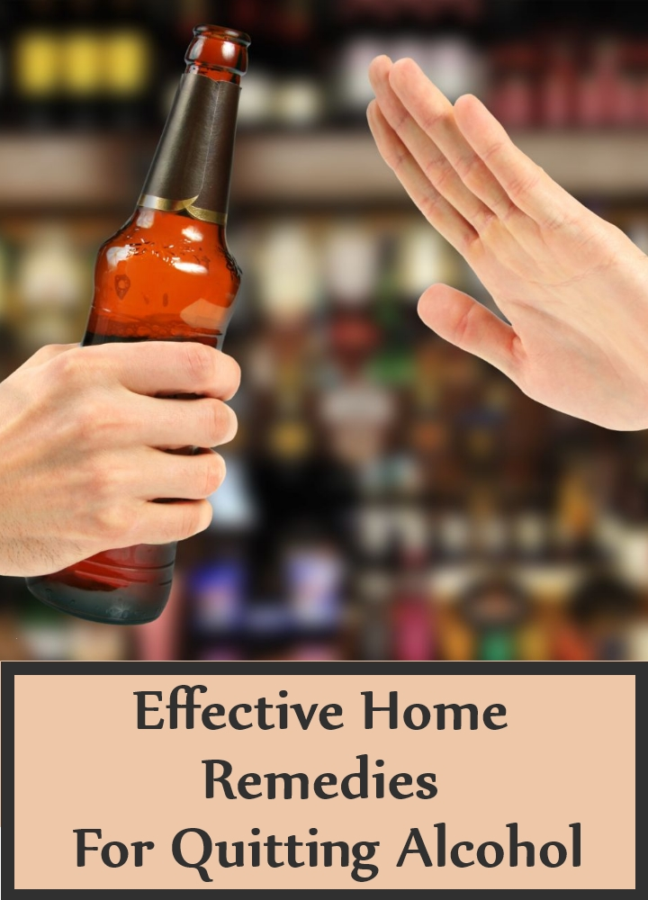 Effective Home Remedies For Quitting Alcohol creative image