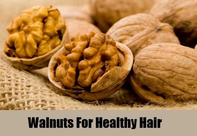 Walnuts For Healthy Hair