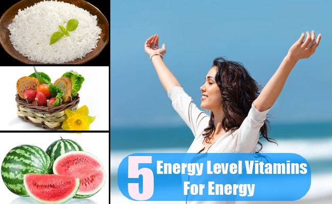 5 Energy Levels Improved With Vitamins For Energy