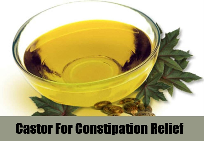 Castor For Constipation Relief