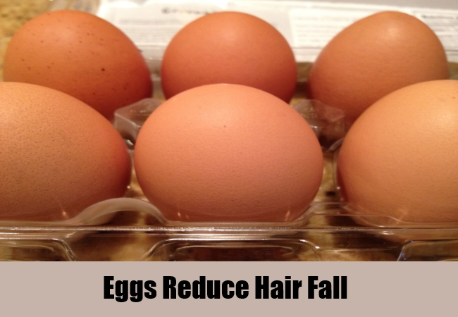 Eggs Reduce Hair Fall