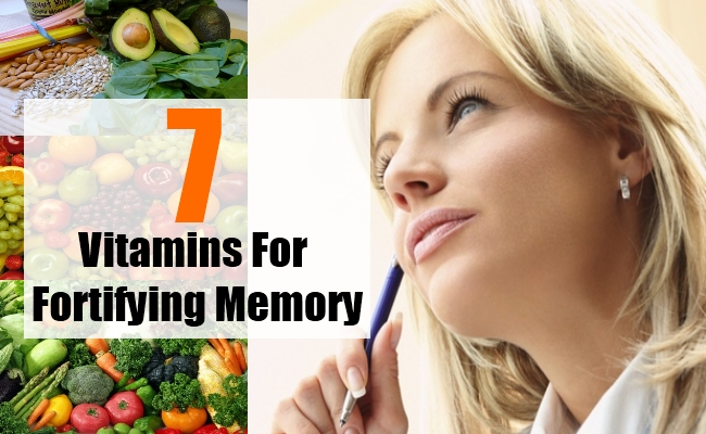 Fortifying Your Memory With Vitamins