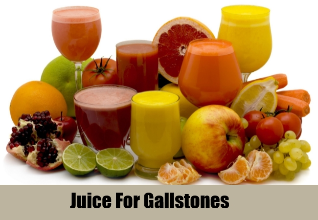 Juice For Gallstones