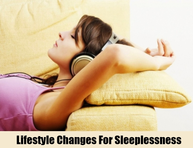 Lifestyle Changes For Sleeplessness