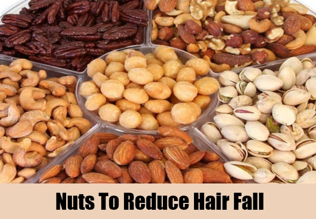Nuts To Reduce Hair Fall