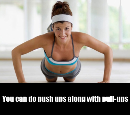 Push Ups And Arm Lifts