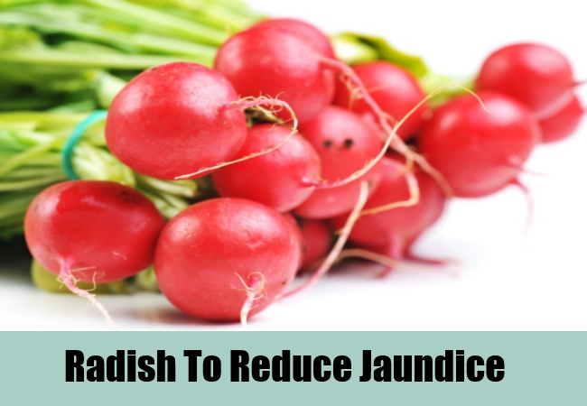 Radish To Reduce Jaundice