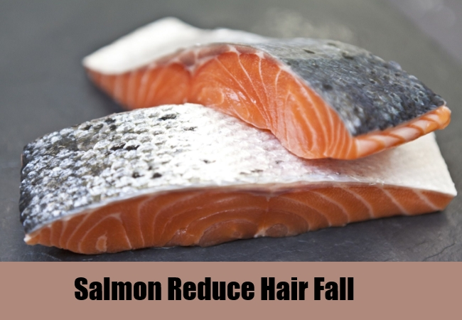 Salmon Reduce Hair Fall