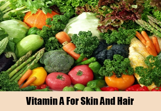 Vitamin A For Skin And Hair