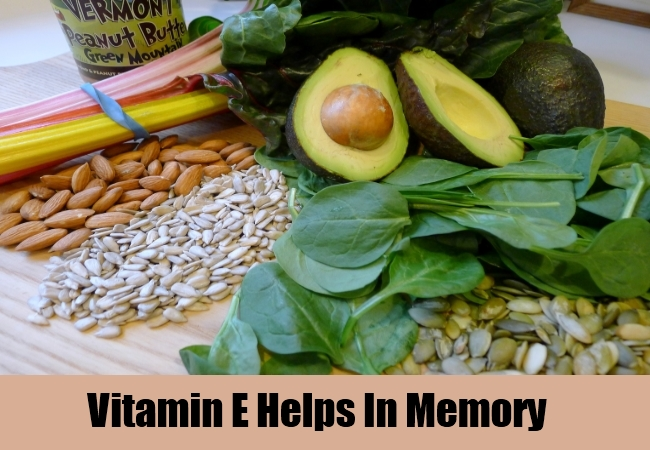 Vitamin E Helps In Memory