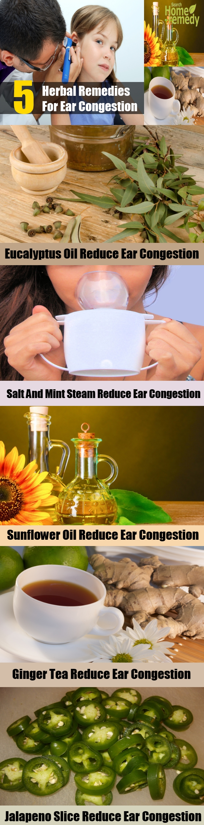 5 Herbal Remedies For Ear Congestion