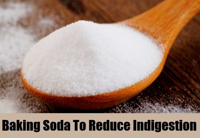 Baking Soda To Reduce Indigestion