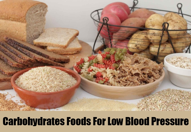 Carbohydrates Foods For Low Blood Pressure