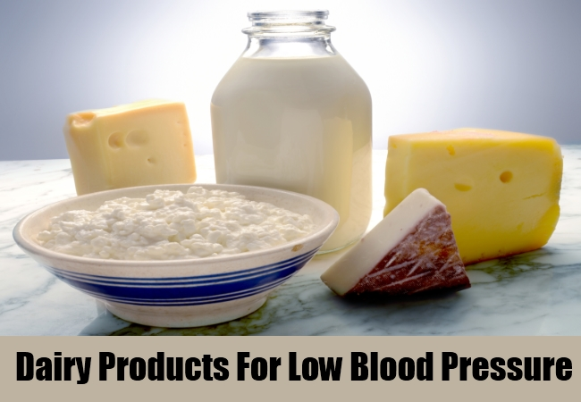 Dairy Products For Low Blood Pressure