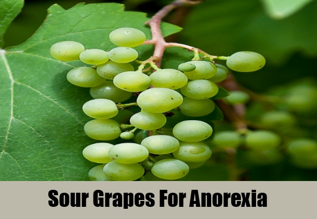 Sour Grapes For Anorexia