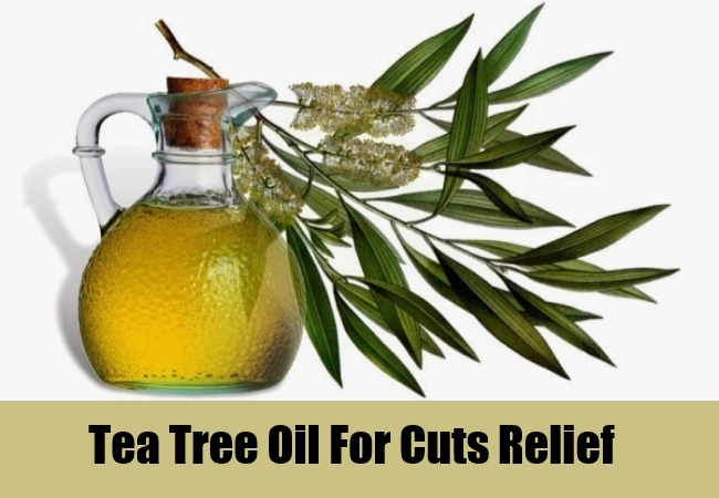 Tea Tree Oil For Cuts Relief
