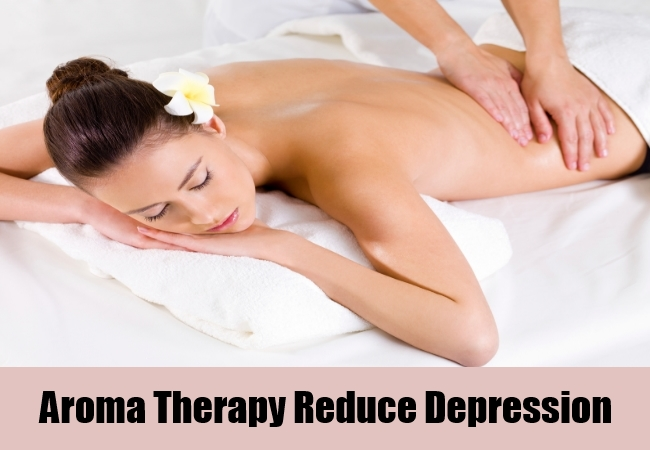 Aroma Therapy Reduce Depression
