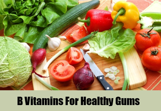 B Vitamins For Healthy Gums