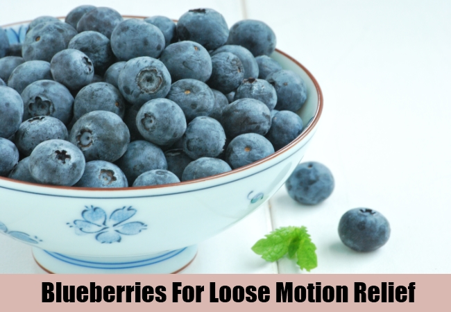 Blueberries For Loose Motion Relief