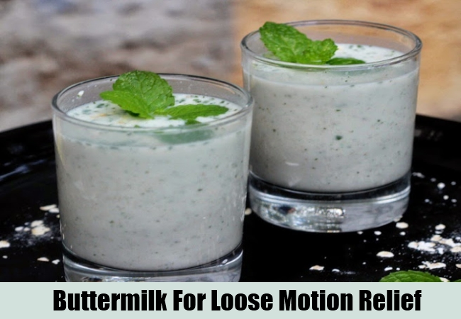 Buttermilk For Loose Motion Relief