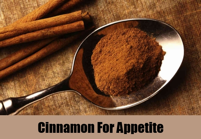 Cinnamon For Appetite